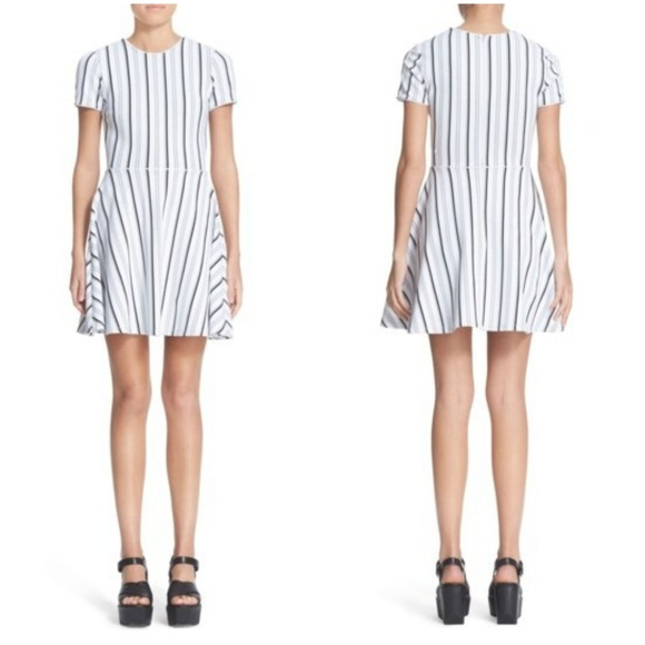 Opening Ceremony Dresses & Skirts - Opening Ceremony Fit n Flare Striped Dress